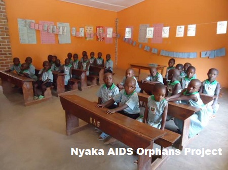 Children at Nyaka AIDS Orphan Project