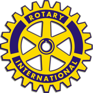 Rotary logo for service clubs dedicated to feeding hungry children