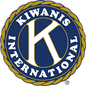 Kiwanis logo. Service to feeding hungry children