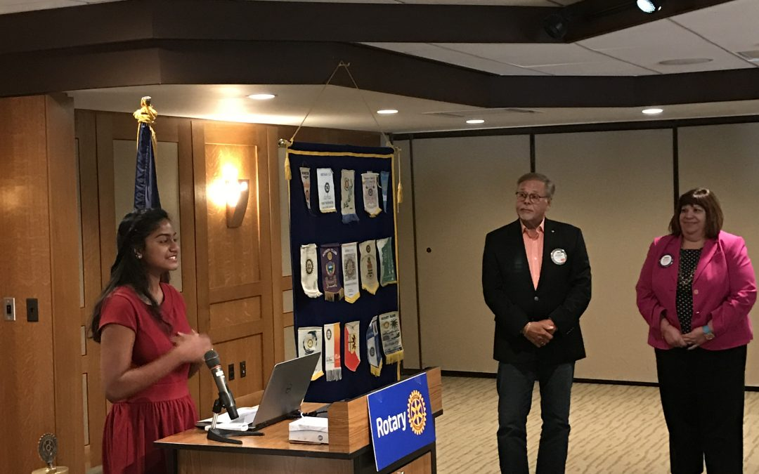 East Lansing Rotary Club Student Excellence Award Winner